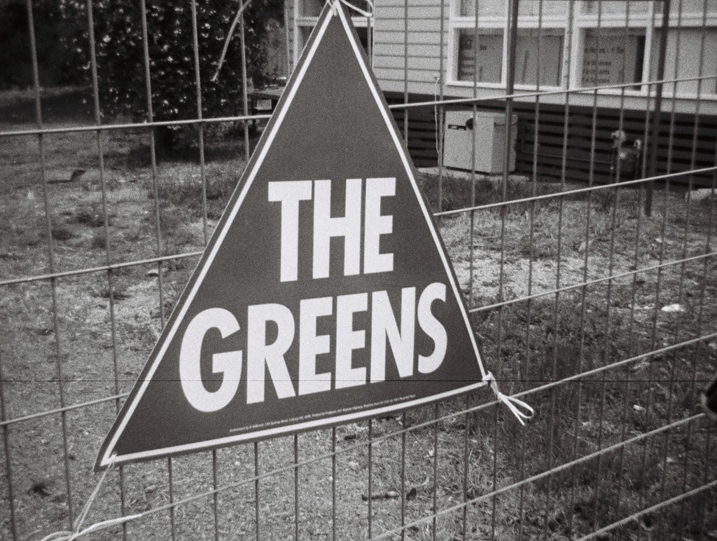 Sign - The Greens