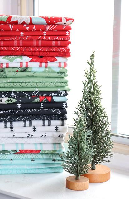 Little Tree fabric by Lella Boutique