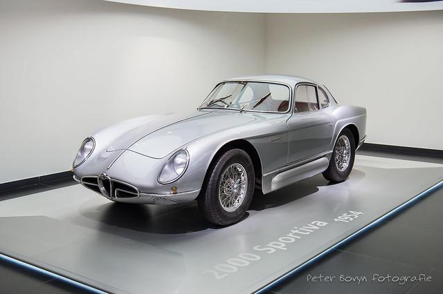Alfa-Romeo 2000 Sportiva Concept - 1954