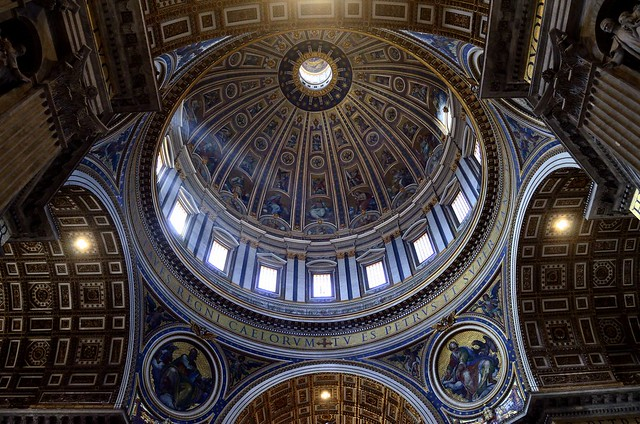 The great dome | St. Peter's Basilica [EXPLORE]