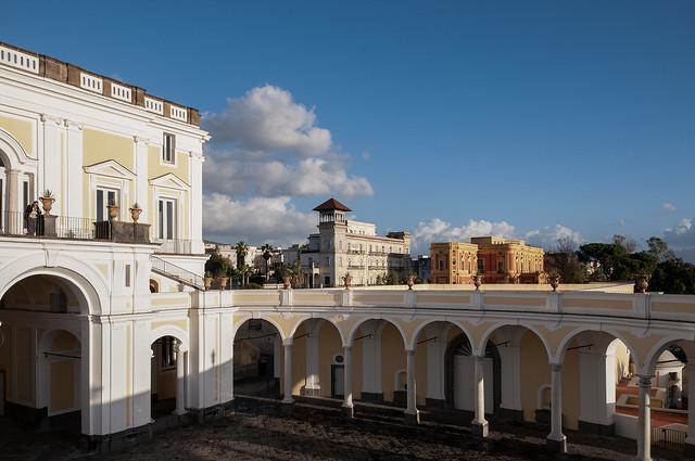 Veduta da Villa Campolieto