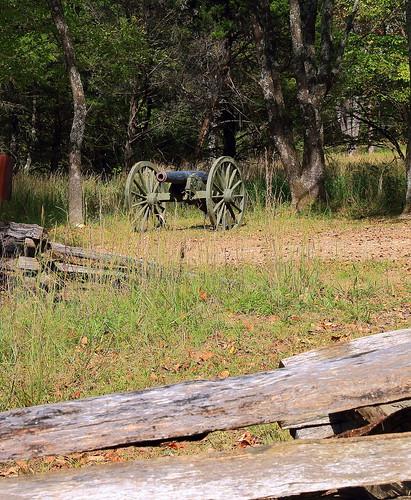 Civil War Artillery, Pea Ridge National Military Park - Benton County, Northwest Arkansas