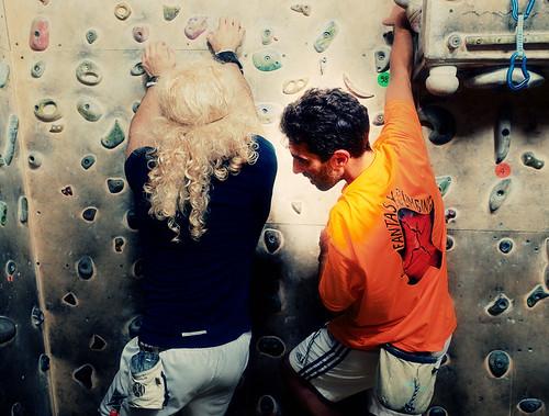 Fantasyclimbing corso di arrampicata il deposito di zio Paperone 45