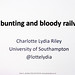 Gin, bunting and bloody railways: Why everything you thought you knew about the British Empire is Wrong - Charlotte Riley at Winchester Skeptics - 27 September 2018