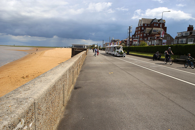 The promenade at Cleethorpes