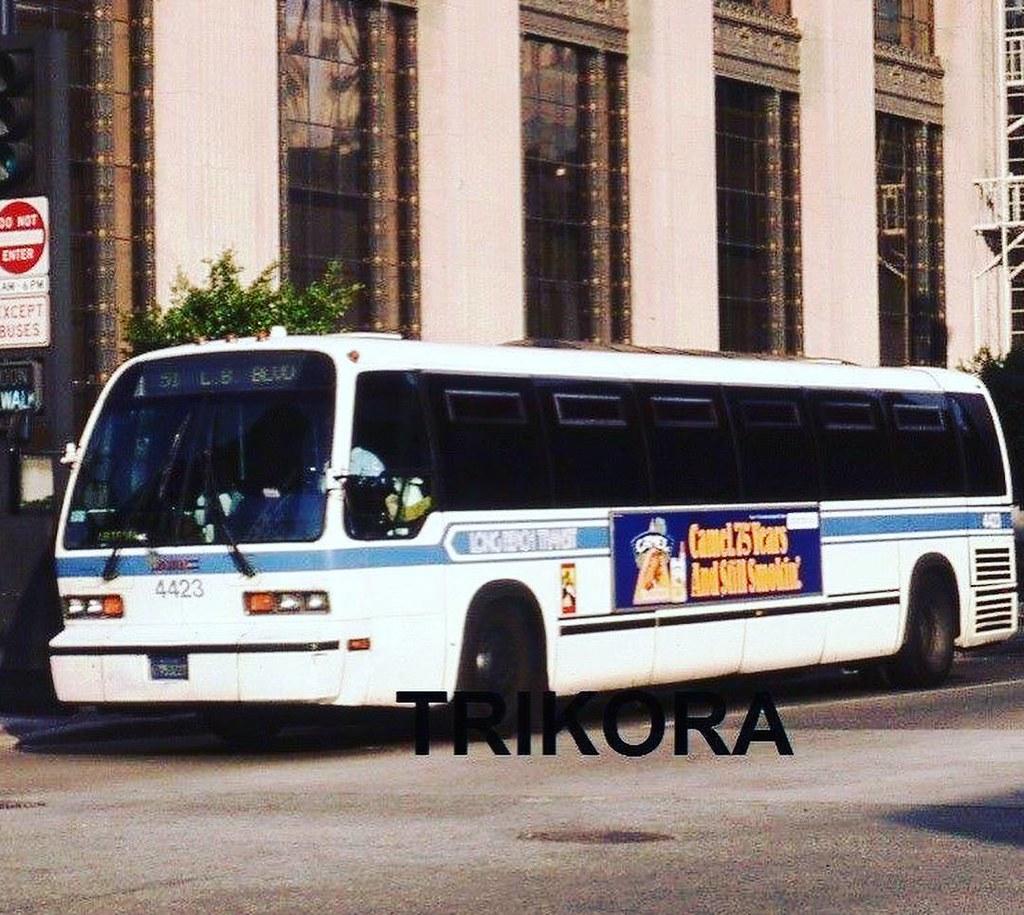 1981 GMC RTS Long Beach Transit Bus. 4423