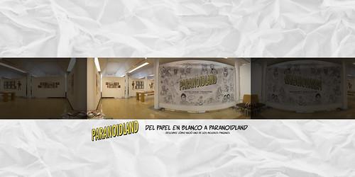 Exposición: Del papel en blanco a Paranoidland - Entrada | by Bouman