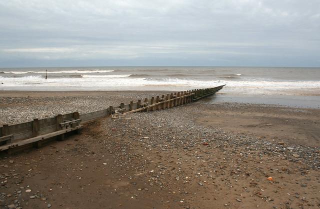 The beach at Hornsea