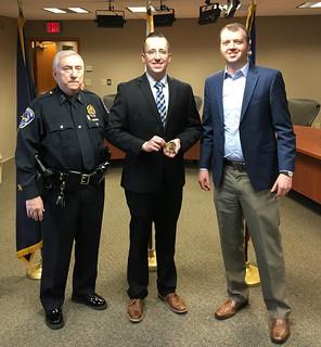 Officer Mark Ludwig Sworn in - Speedway Police | by speedwaycommunitypolicing