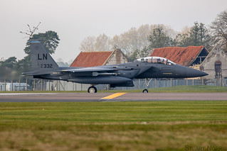 F-15E Strike Eagle 91-0332 - 492nd Fighter Squadron RAF Lakenheath | by stu norris