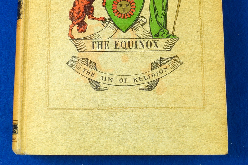 RD26573 The Equinox Review of Scientific Illuminism 1974 Vol. 1 Complete Set of 10 Books Aleister Crowley Occult Magic DSC08477