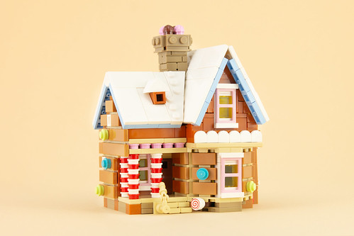 Gingerbread Up House | by Legopard