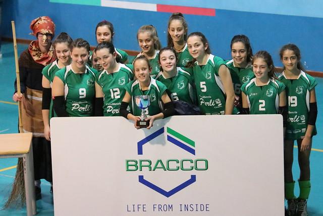 6 Gennaio 2019 Befana Volley - Bracco Pro Patria Milano  -