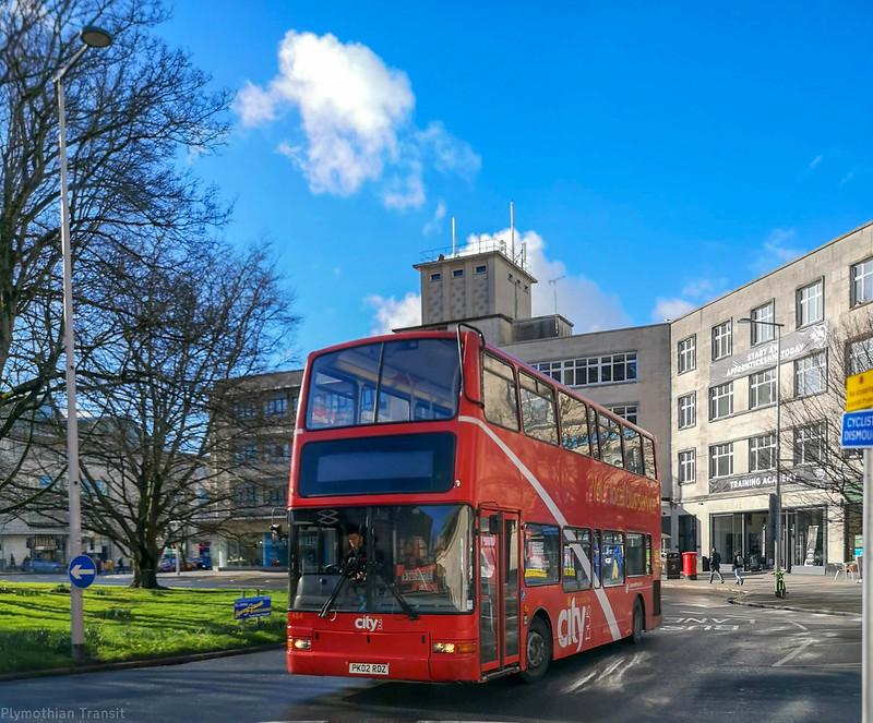 Plymouth Citybus 484 PK02RDZ