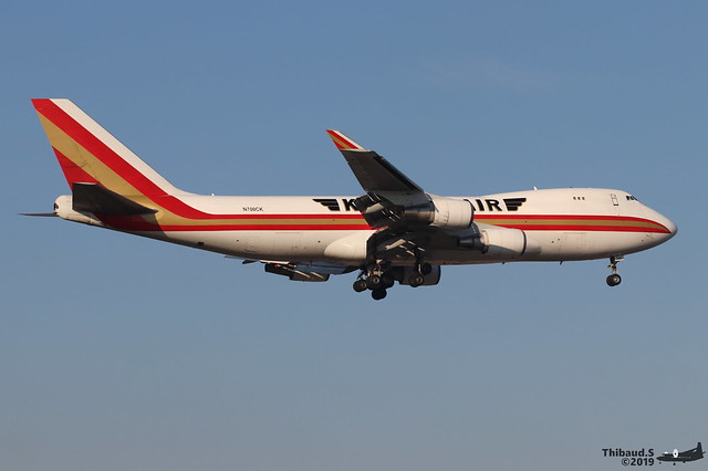 Boeing 747 -4R7F KALITTA AIR N700CK 25868 Francfort janvier 2019