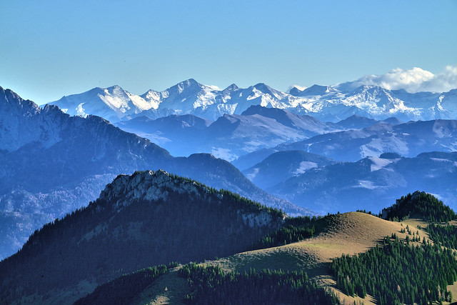 View from Wildalpjoch Summit - Bavaria