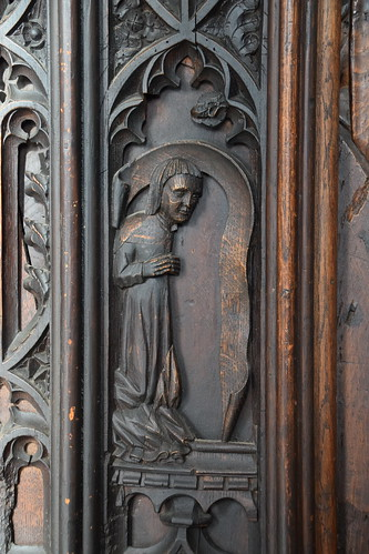 return stalls: donor (15th Century) | by Simon_K
