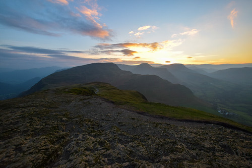 Borrowdale walks Lake District - Maiden Moor Fell | by www.beckythetraveller.com