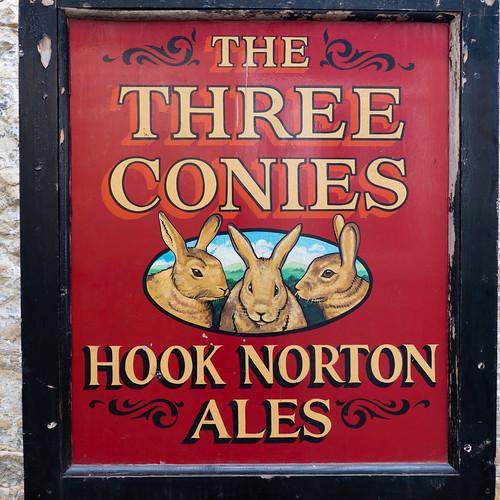 Three conies (old inn sign)