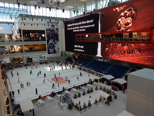 Dubai Mall - Ice Rink