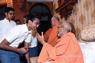 Std-10-11-12-visit-to-Haridham-for-Swamishree's-Blessings-(34) | by Atmiya Vidya Mandir