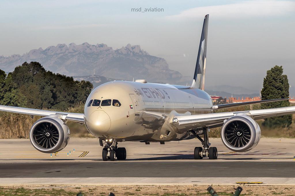 Boeing 787-9 Dreamliner A6-BLP Etihad Airways