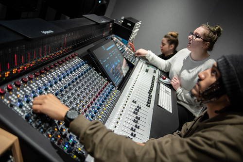 BSc (Hons) Audio Recording and Production | Courses