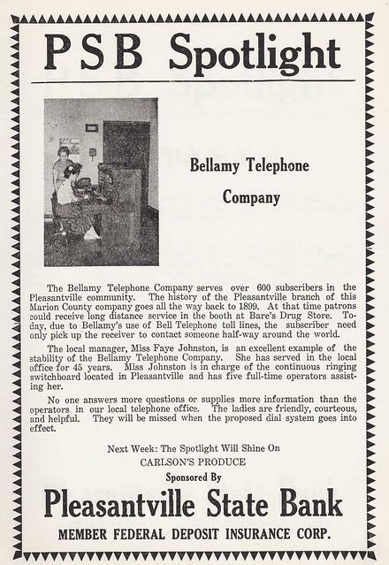 bellamy telephone co
