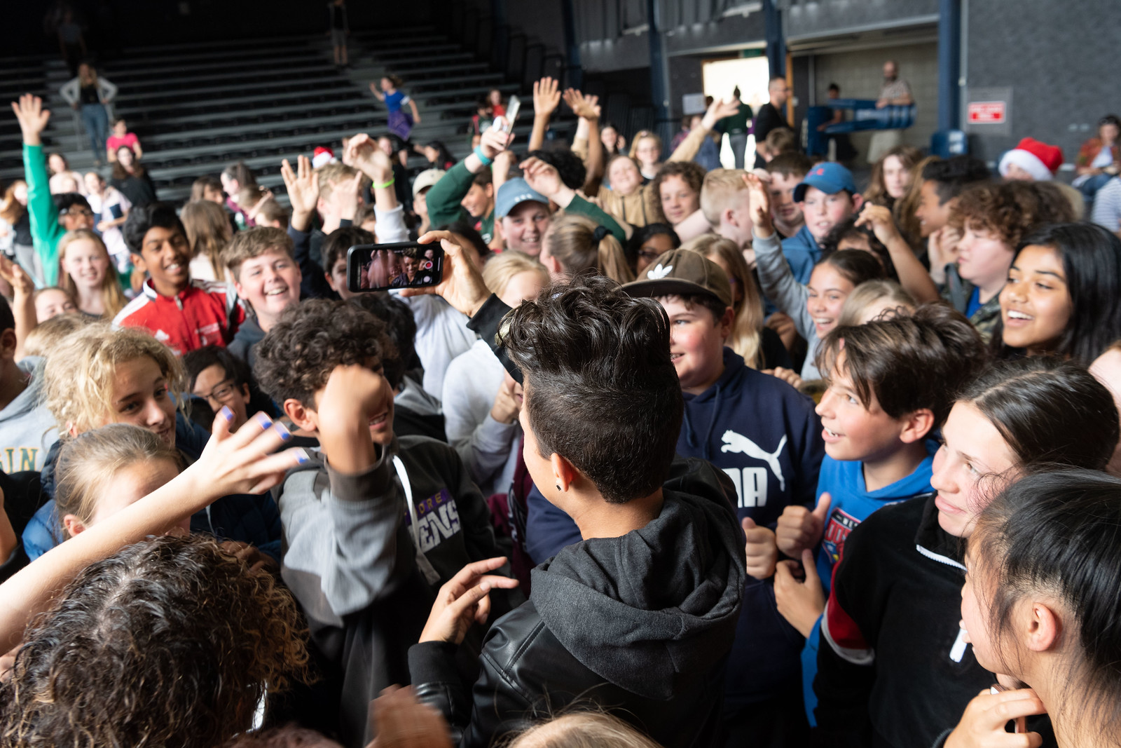 Butterscotch Clinton performance at Raroa Intermediate School, 5 December 2018. Photo credit: U.S. Department of State.