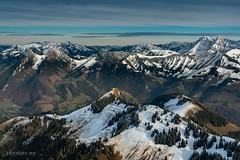 Premières neiges sur la Gruyère (Switzerland)