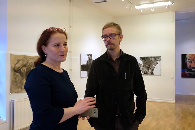 Sahar Burhan och Mattias Åkeson