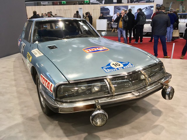 Citroen SM Rally Car