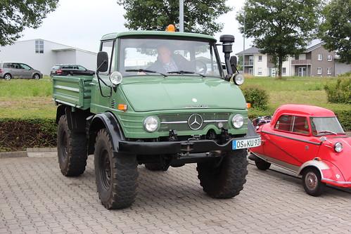 1970 Mercedes Benz Unimog 406 Bersenbrück 24.06.2018 | Flickr