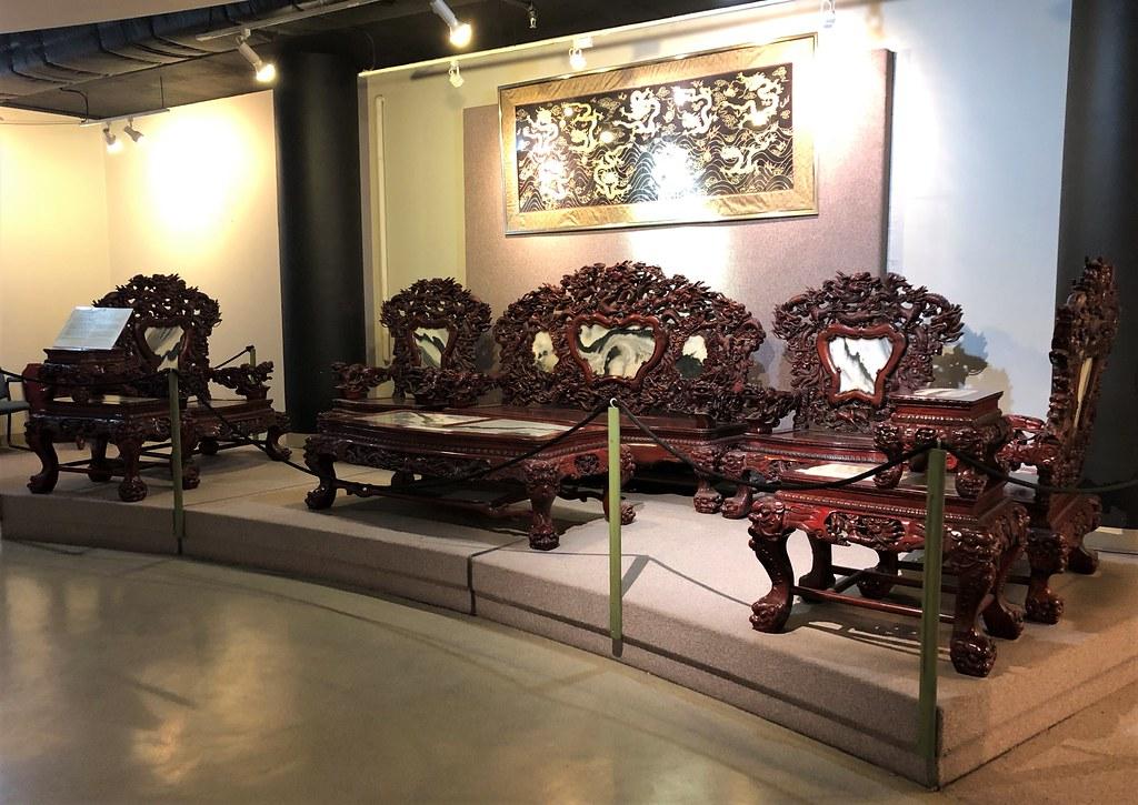 Replica Of Traditional Chinese Furniture, Museum At Calgar ...
