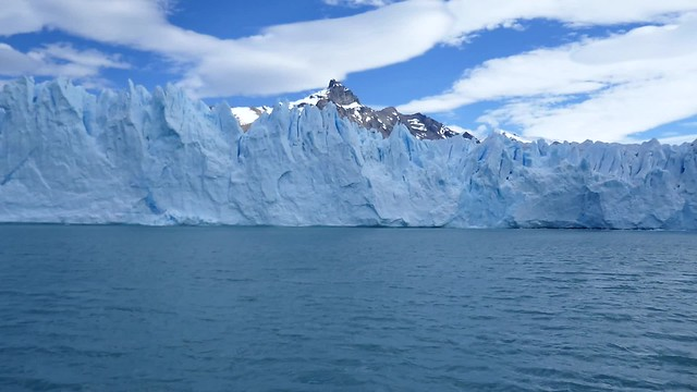 View of Ice from Boat