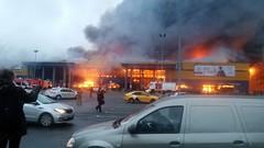 Гипермаркет «Лента», сгоревший в Петербурге, застраховали почти на 3 миллиарда