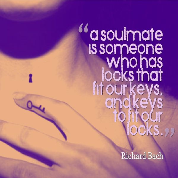 Soulmate And Love Quotes A Soulmate Is Someone Who Has Lo Flickr