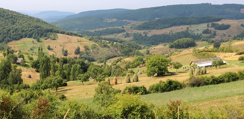 rumänien landscape bistritanasaud