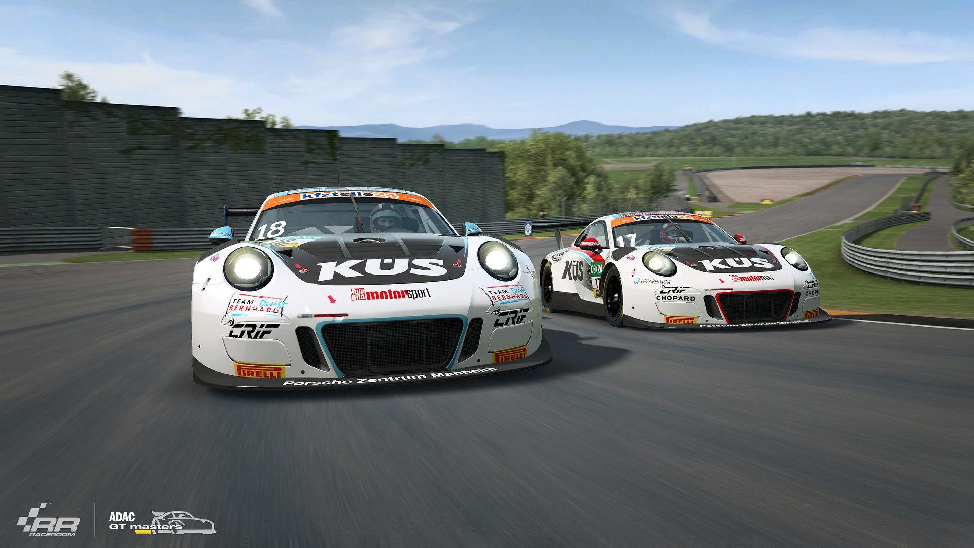 RaceRoom ADAC GT Masters 2018 Porsche 6