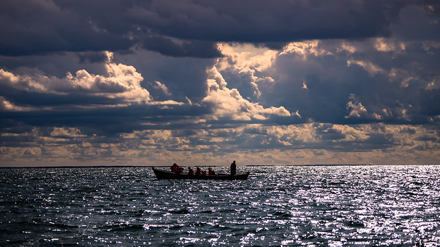 Evening on the Baltic Sea