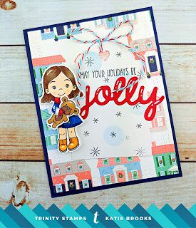 "https://kbstamps.blogspot.com/2018/12/jolly.html?m=1  Trinity Stamps and Dies, Pinkfresh Studio DP, Lil Inker ""Jolly"" Die"