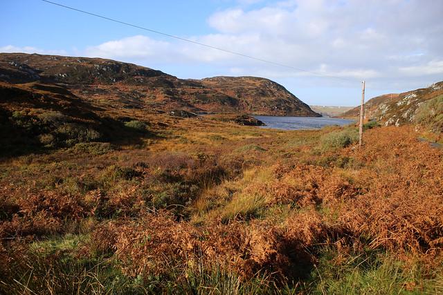 Loch na Bruthaich near Clashnessie