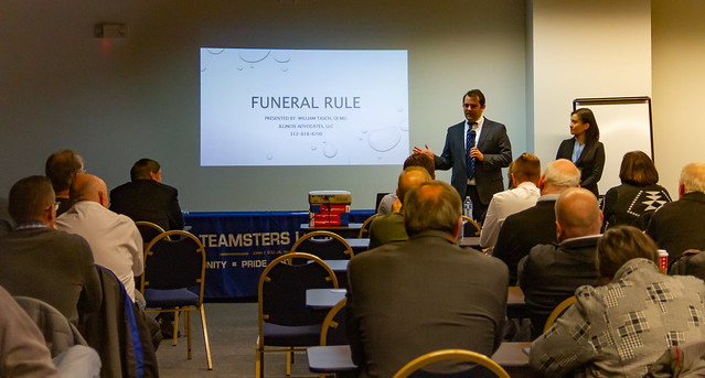 PHOTOS: Funeral Members Earn C E  Credits at Local 727's