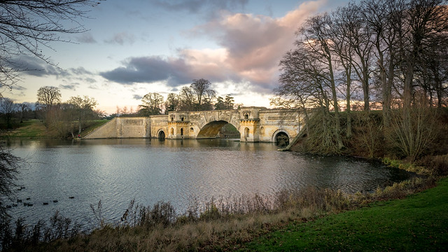 The Grand Bridge, Blenheim Palace