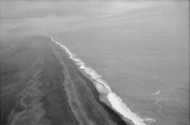Iceland coast - fusion of coast and sea