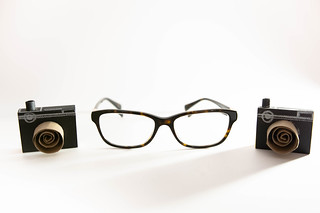 Two camera crafts and reading glasses | by wuestenigel