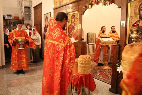 Пасхальное Богослужение в Свято-Никольском храме станицы Кавказской IMG_1460