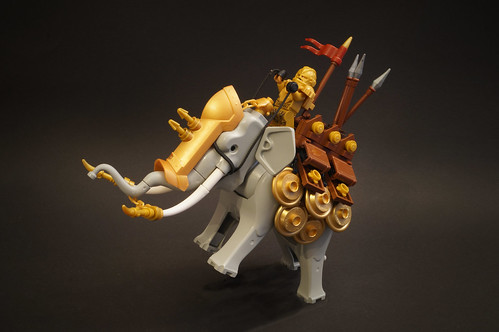 Siege tank elephant