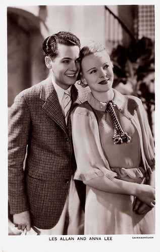 Anna Lee and Les Allen in Heat Wave (1935)
