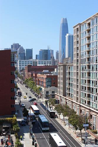 2nd street san francisco ca california att oracle park architecture salesforce tower june 2018